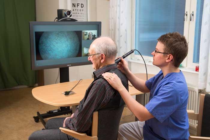 Framtidens vård utvecklas på Glesbygdsmedicinskt Centrum